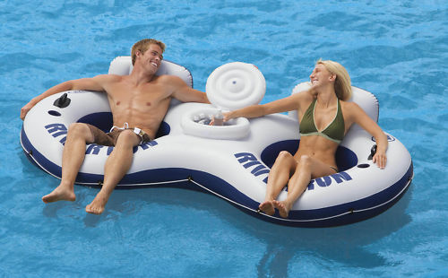 INTEX-RIVER-RUN-2-INFLATABLE-FLOATING-SWIMMING-POOL