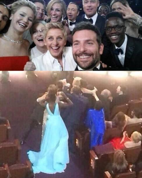 Liza Minnelli Selfie fail
