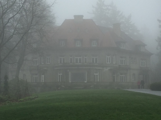 Pittock Mansion in the Mist